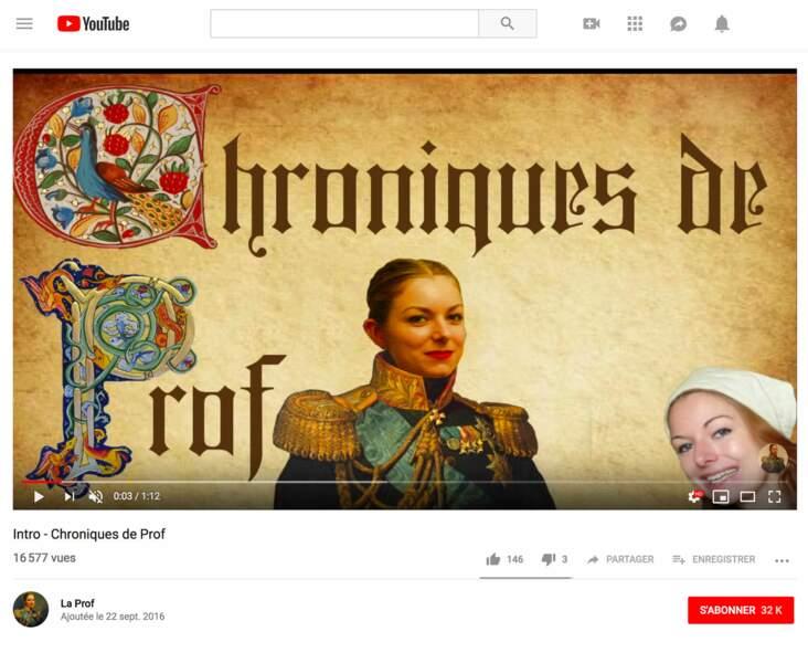 Justine Defrance : La Prof, 46 000 abonnés