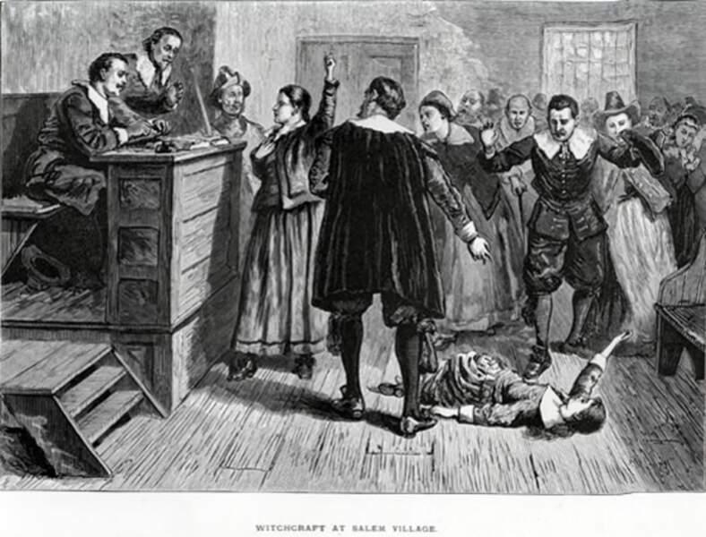 Les sorcières de Salem en 1693
