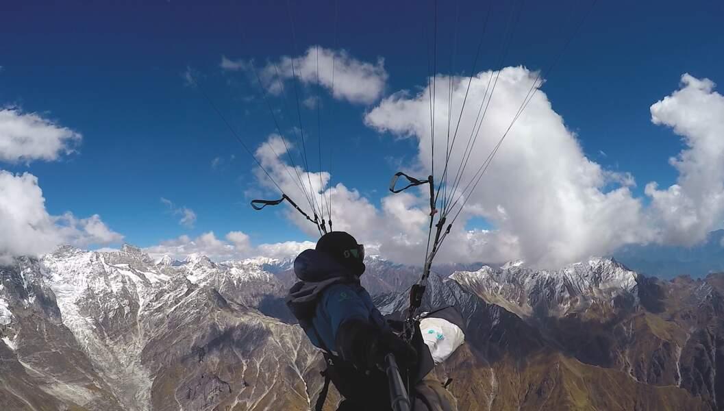 """""""Blutch"""" : l'Himalaya en parapente"""