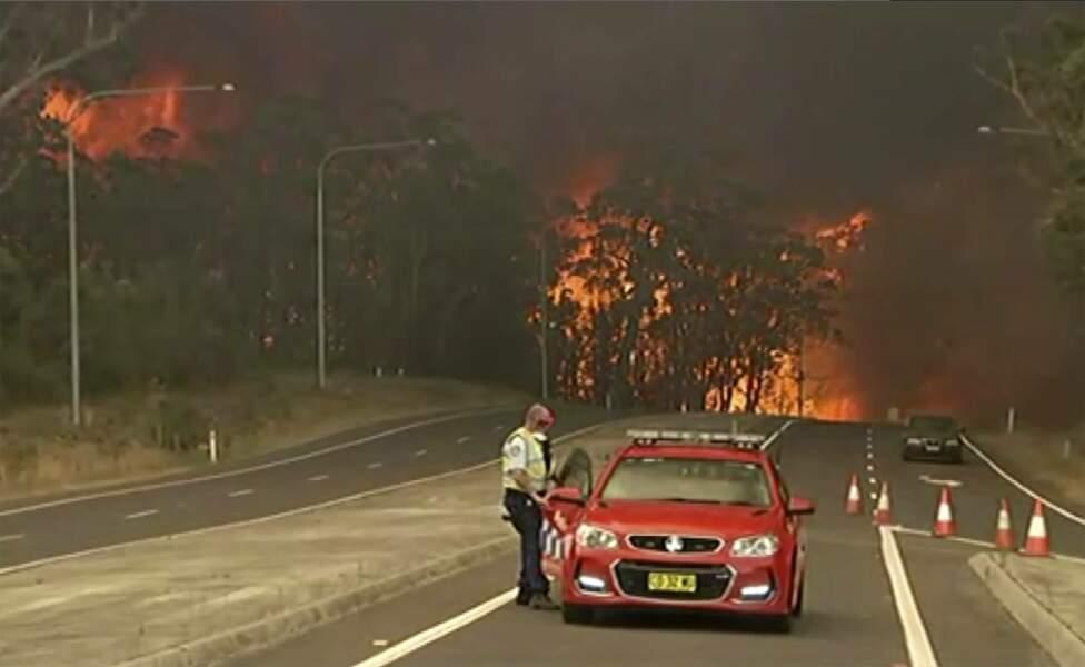 Barrage de feu sur Princes Highway
