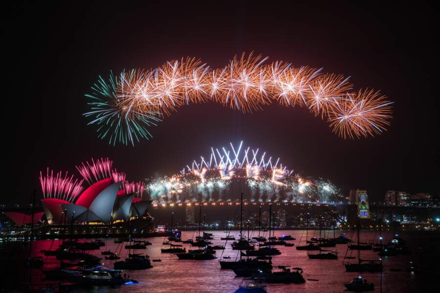 Le nouvel an à Sydney