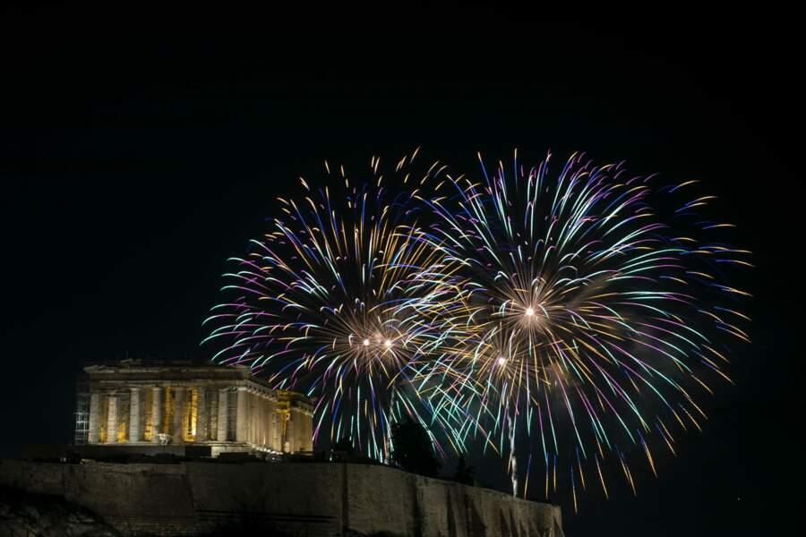 Le nouvel an à Athènes