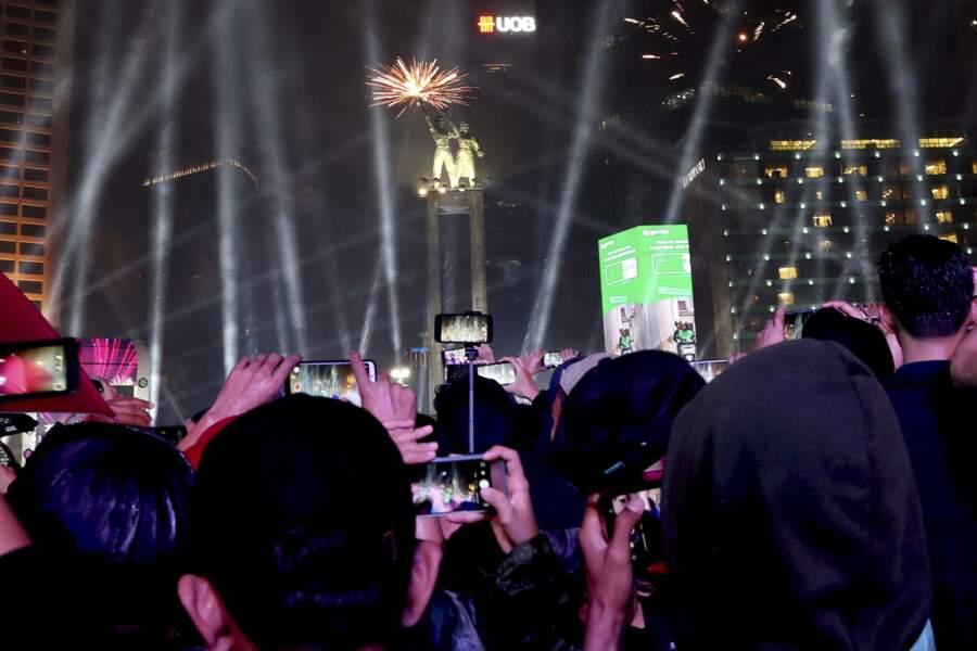 Le nouvel an à Jakarta