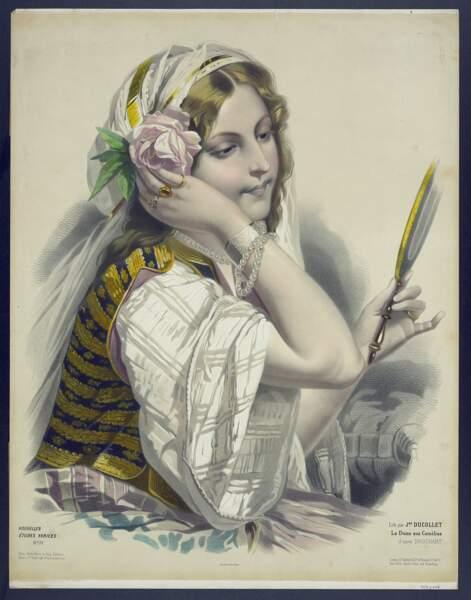 Marie Duplessis, la Dame aux camélias