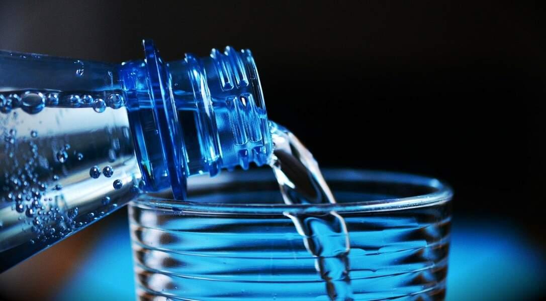 5,5 bouteilles d'eau
