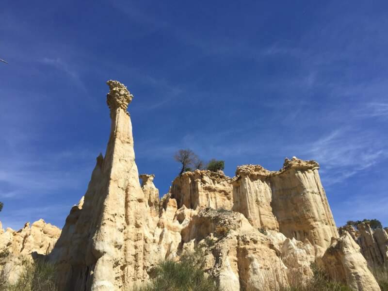 Occitanie vs Cappadoce : paysage sculpté par l'érosion