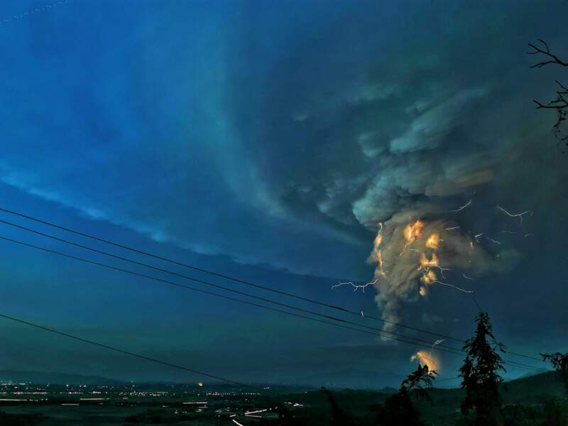Le souvenir de l'éruption meurtrière de 1991 est dans toutes les têtes
