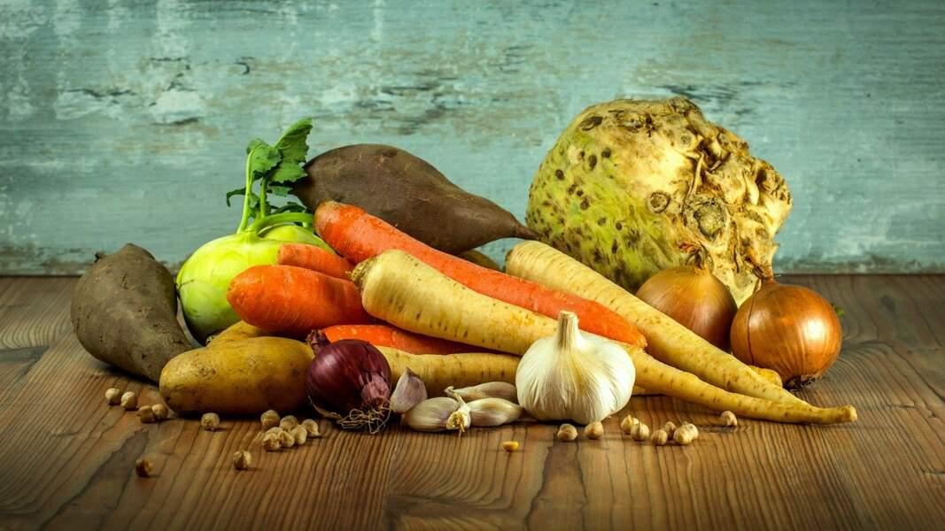 Gardez la peau des légumes dans la soupe s'ils sont bio