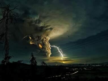 Le réveil du volcan Taal aux Philippines