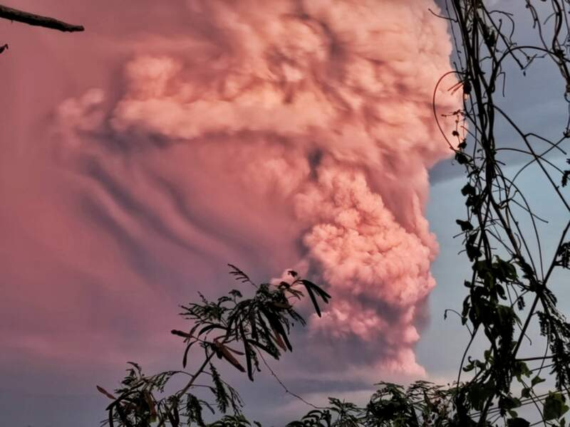 Les autorités craignent une éruption explosive