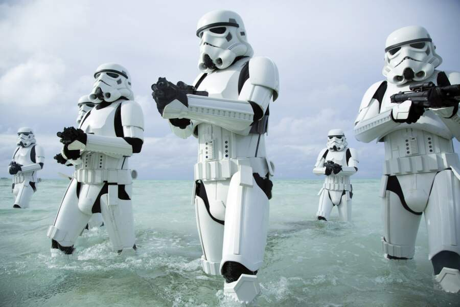 L'armure blanche des stormtroopers