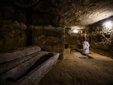 Découverte de tombes de grands prêtres égyptiens