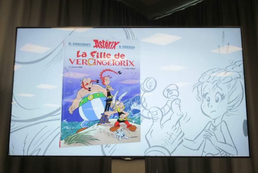 Le dernier album d'Astérix est la plus grosse vente de l'année, tous livres confondus, avec 1,7 million d'exemplaires vendus