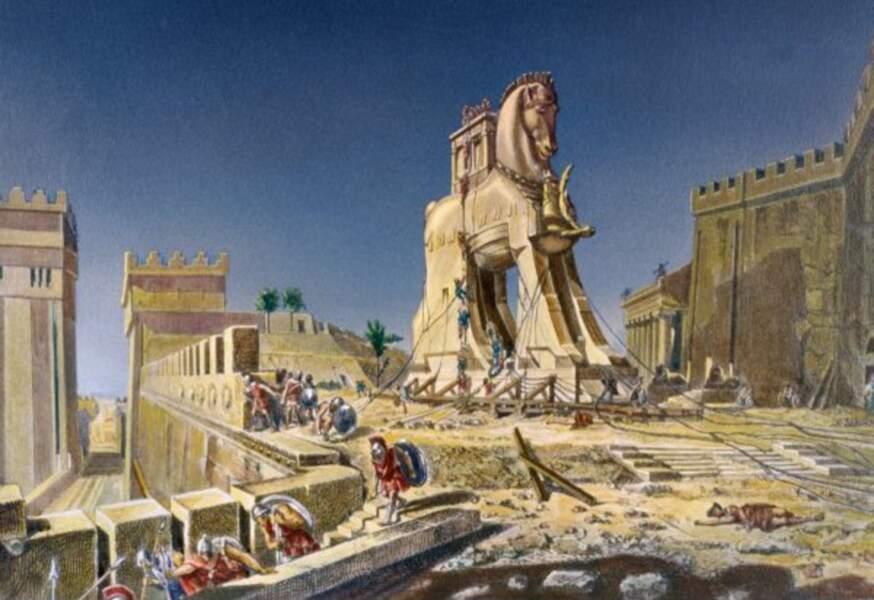 Le cheval de Troie ? Tu parles d'un cadeau…