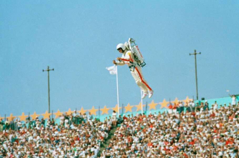 1984 : la fusée humaine de Bill Suitor