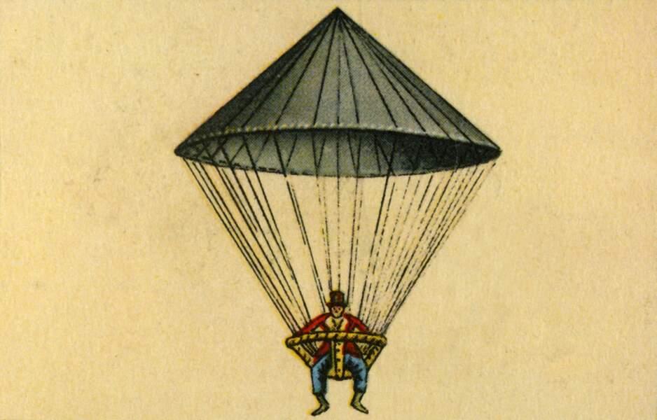 1783 : le parapluie géant de Lenormand