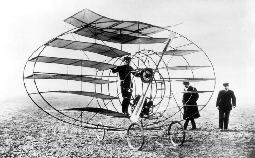 1908 : l'étonnant aéronef du marquis d'Ecquevilly
