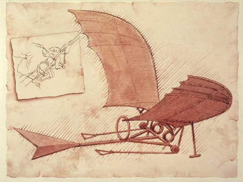 1506 : l'oiseau de Léonard
