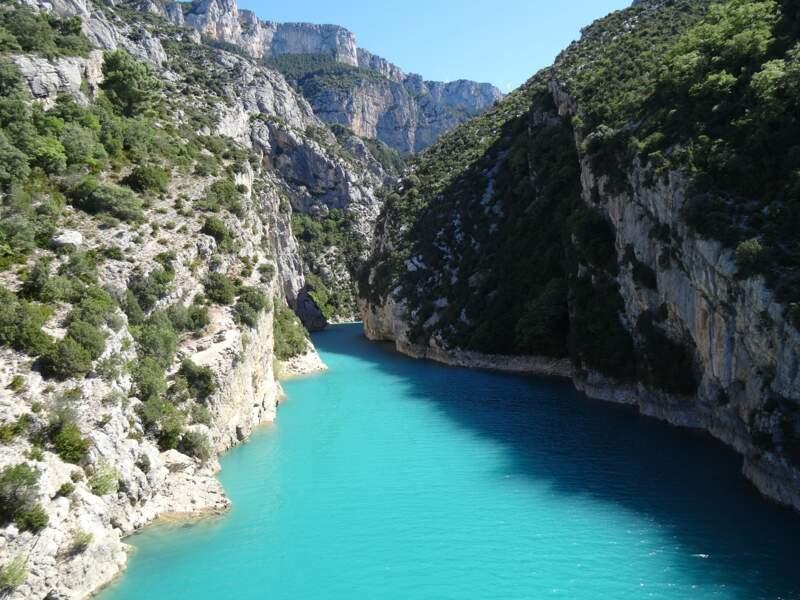 Les gorges du Verdon : une rivière née d'une mer et d'une montagne
