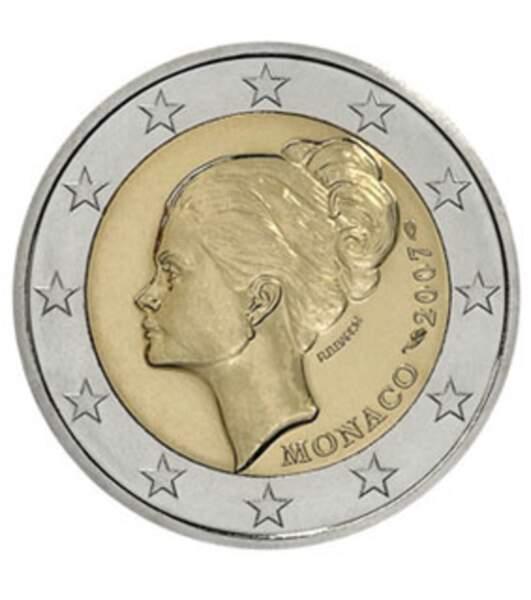 Les deux euros de Monaco 2007, édition Grace Kelly