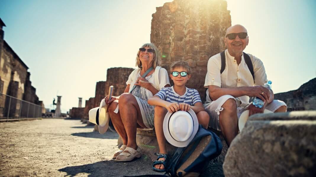 Plus de 2,5 millions de touristes visitent Pompéi chaque année