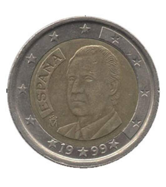 Les deux euros commémoratifs espagnols