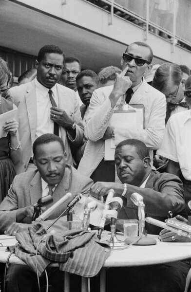 Clarence B. Jones, conseiller personnel, rédacteur de discours et ami proche de Martin Luther King Jr