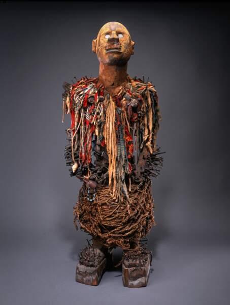 Figure de pouvoir (nkisi nkondi)