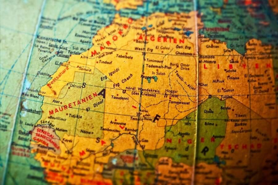 Quelle est la particularité du jeu The Campaign for North Africa ?