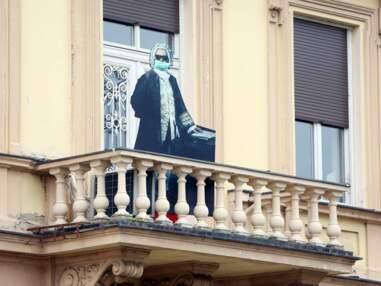 Pâques au balcon...