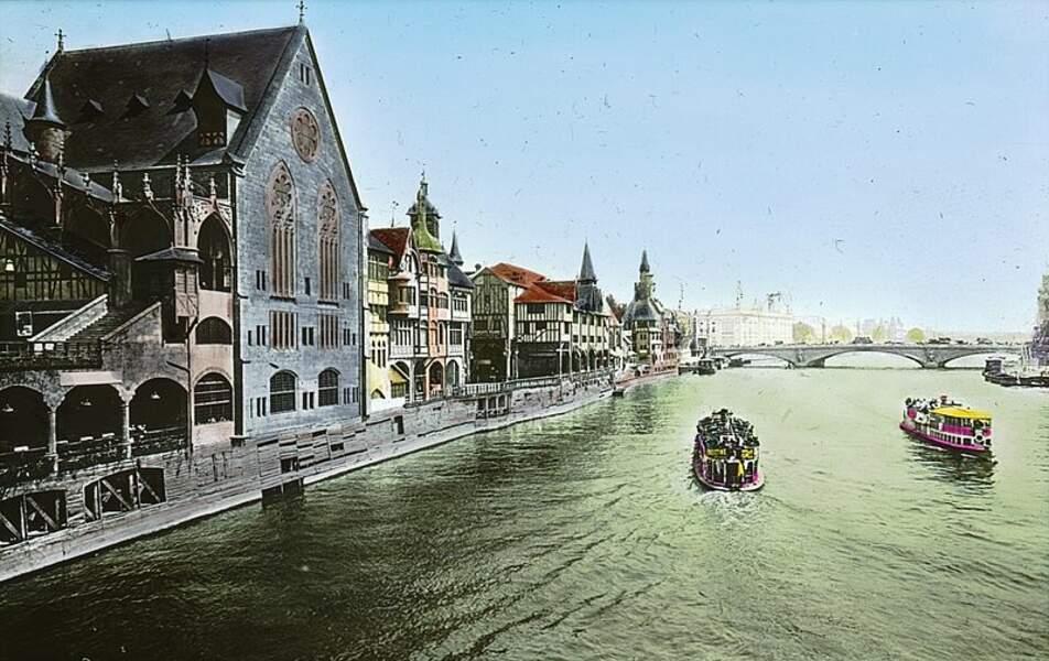 La reconstitution du vieux Paris, celui d'avant les grands travaux décidés par le préfet Haussmann dans les années 1860.