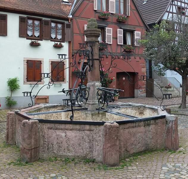 Bergheim (Haut-Rhin), le repère des sorcières