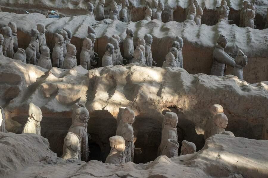 Horizon 2040, archéologie : pénétrer dans le mausolée du premier empereur de Chine
