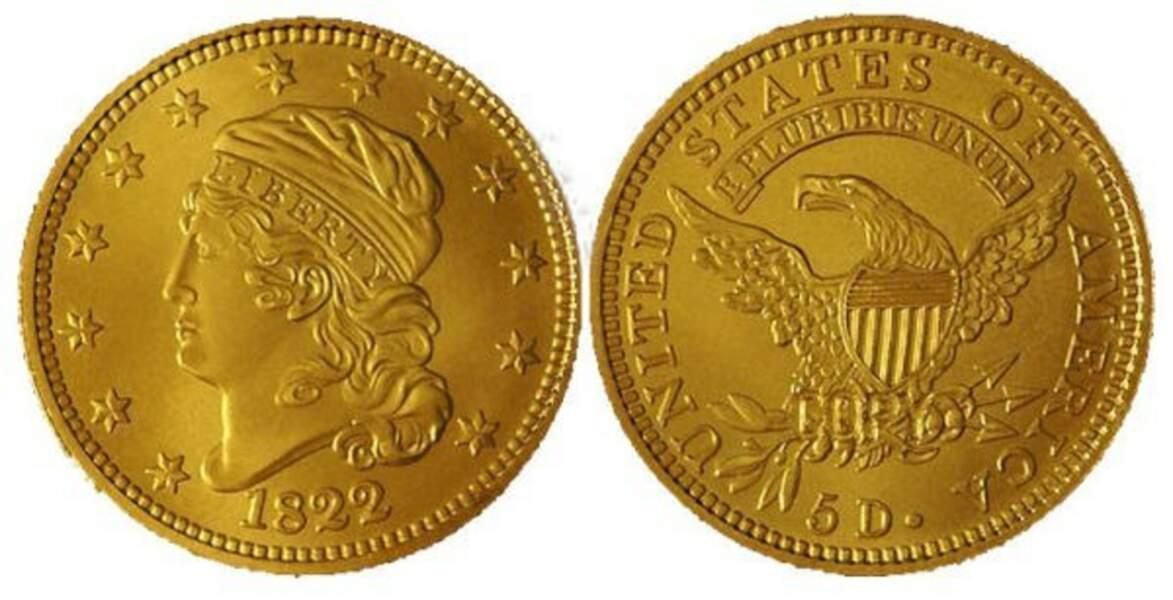 Half Eagle (1822)