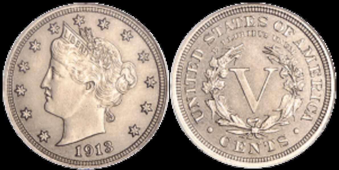 Cents Liberty Head (1913)
