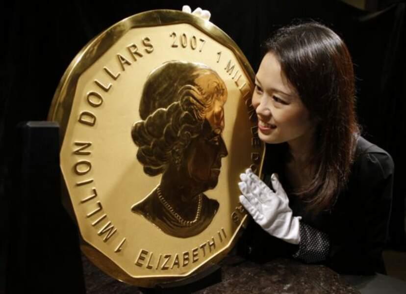 Reine Elizabeth II million dollar (2007)