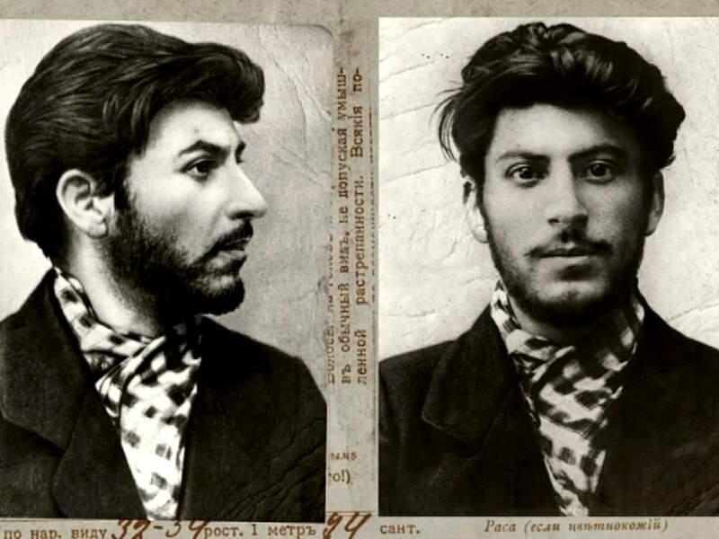 Staline photoshope la révolution russe