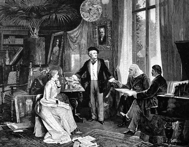 Franz Liszt et Marie d'Agoult : fugues amoureuses