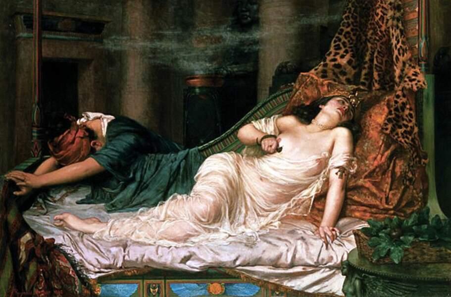 Cléopâtre et Marc Antoine : les amants au pouvoir