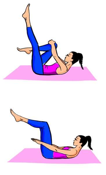 Inspirer et expirer au changement de jambe