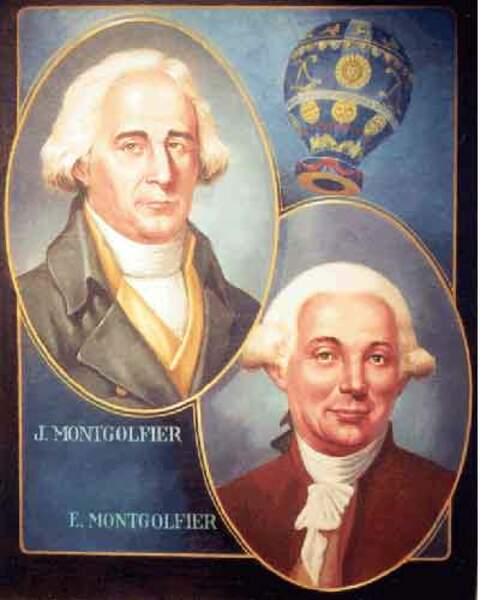 Les frères Montgolfier- La montgolfière
