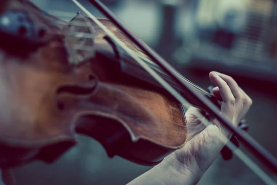 Il a joué du violon chez le roi des belges