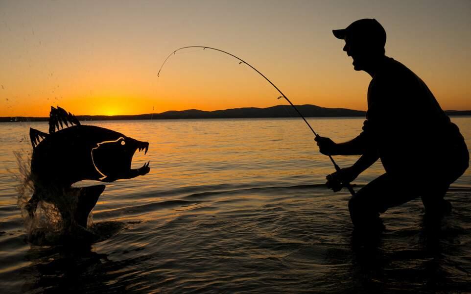 John Marshall à la pêche !