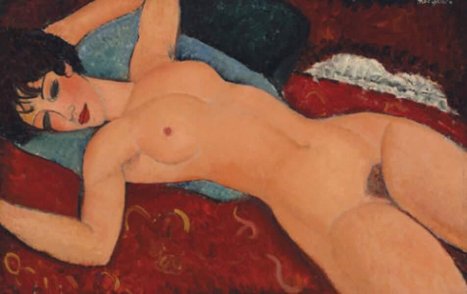 """Le """"Nu couché"""" de Modigliani est obscène."""