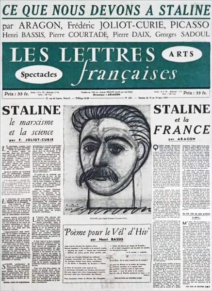"""Le """"Portrait de Staline"""" de Picasso est insultant."""