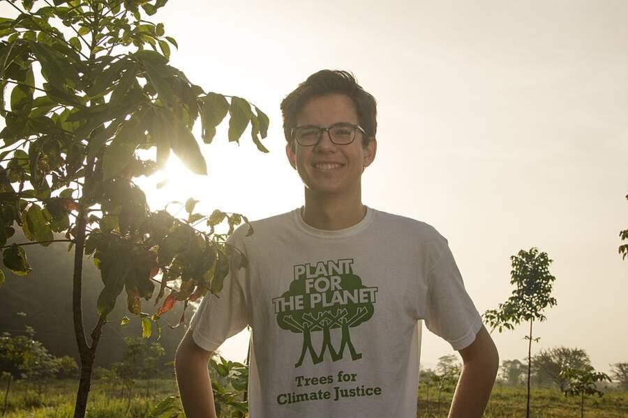 Allemagne, Felix Finkbeiner : reboiser la planète