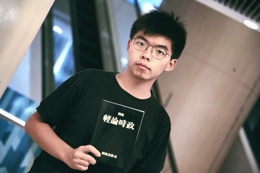 Hong Kong, Joshua Wong : défendre la démocratie