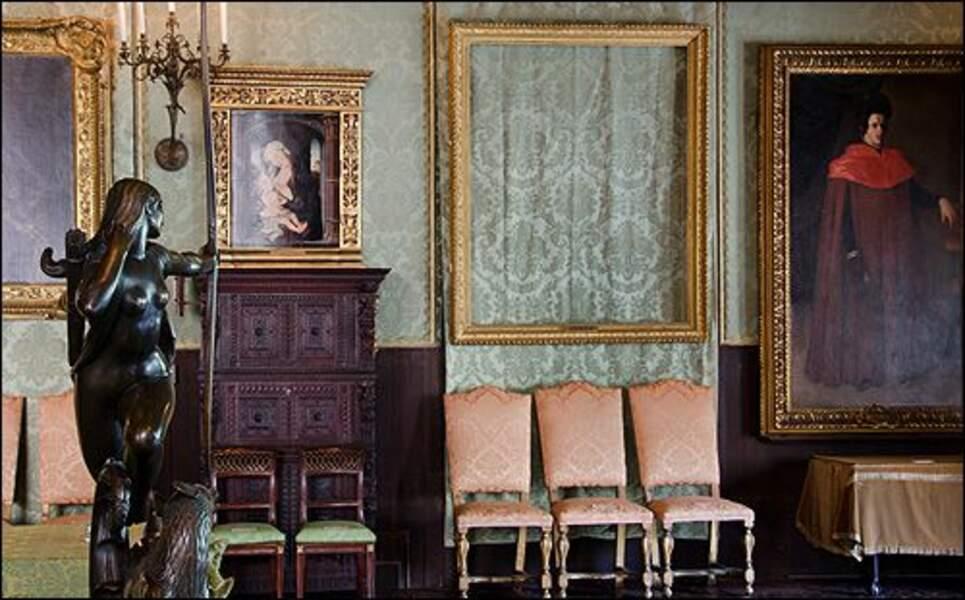 Treize œuvres d'art portées disparues