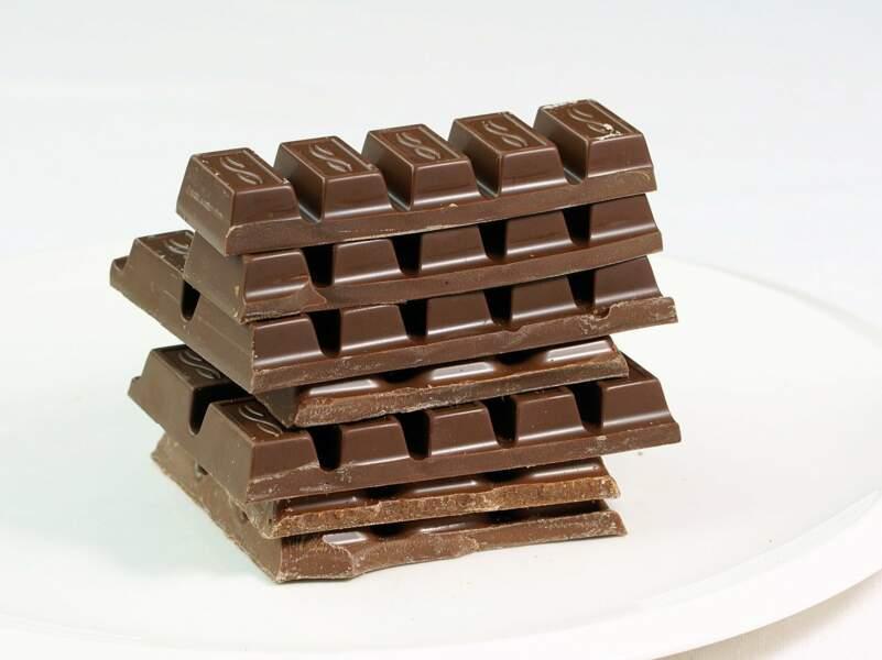85 tablettes de chocolat