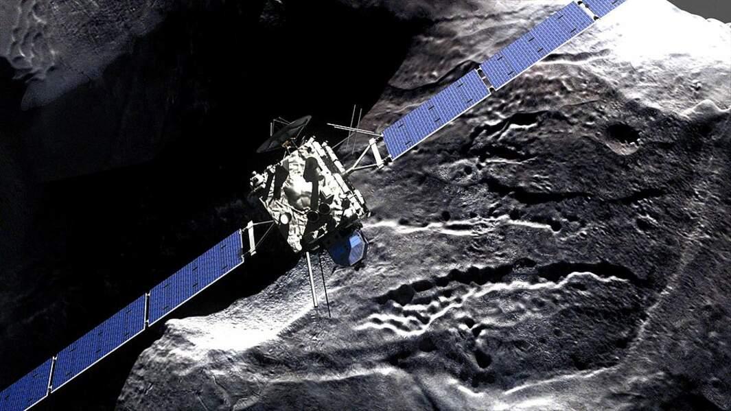 Rosetta était la première sonde à étudier une comète